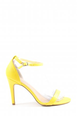 New Look High Heel Sandaletten blassgelb Elegant