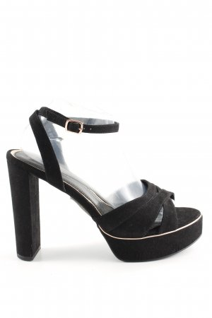 New Look High Heel Sandaletten schwarz Casual-Look