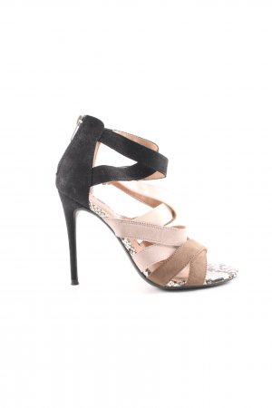 New Look High Heel Sandaletten mehrfarbig Animal-Look