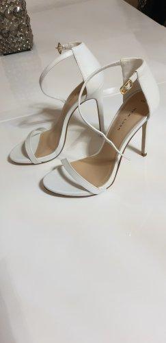 New Look High Heels weiss Gr. 39 neu