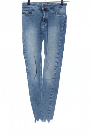 New Look Hoge taille jeans blauw casual uitstraling