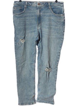 New Look High Waist Jeans blau Casual-Look