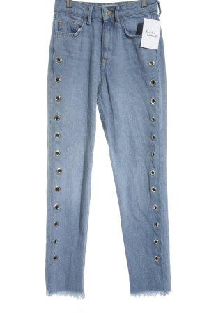 "New Look Hoge taille jeans ""TORI"" lichtblauw"