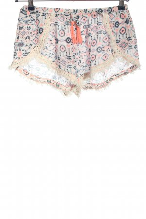 New Look Hot Pants Allover-Druck Casual-Look