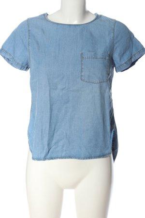 New Look Blusa denim blu stile casual