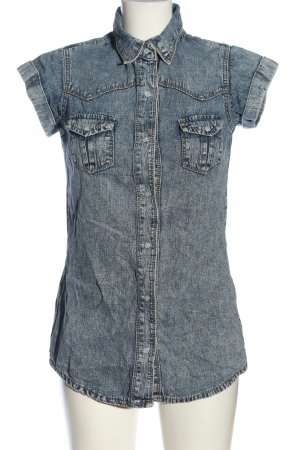 New Look Jeans blouse blauw casual uitstraling