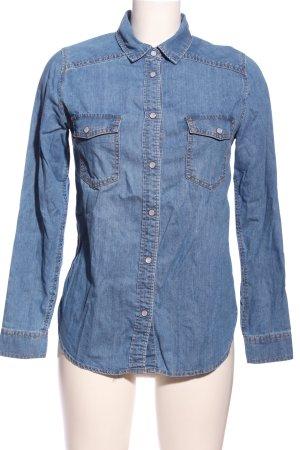 New Look Jeansowa koszula niebieski W stylu casual