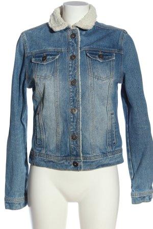 New Look Jeansjacke blau Casual-Look