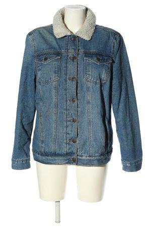 New Look Jeansjacke blau meliert Casual-Look
