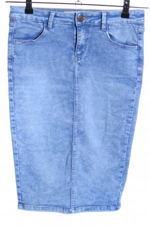 New Look Jeansrock blau Casual-Look