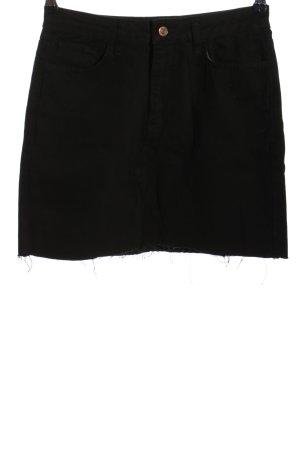 New Look Denim Skirt black casual look
