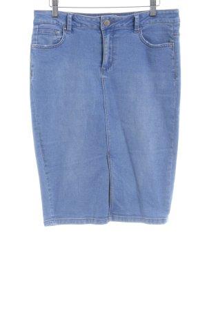 New Look Jeansrock kornblumenblau Jeans-Optik