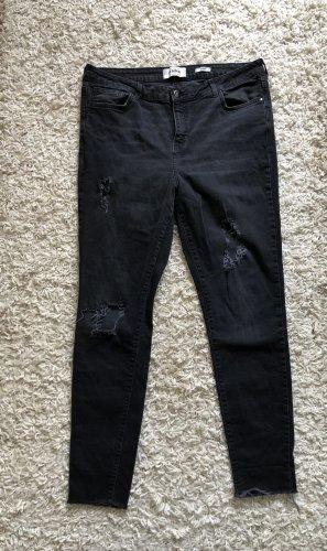 New Look Jenna Skinny Jeans Ripped Plussize XXL 44