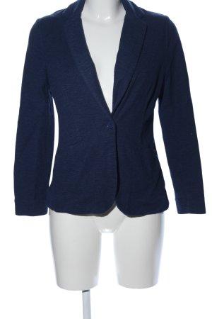 New Look Jersey blazer blauw gestippeld casual uitstraling
