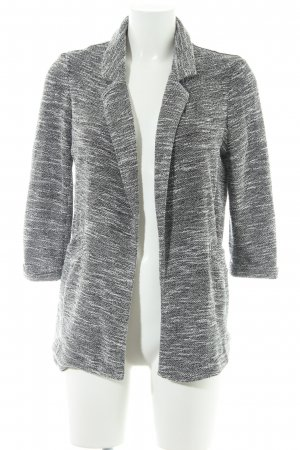 New Look Jersey blazer zwart-wit gestippeld casual uitstraling
