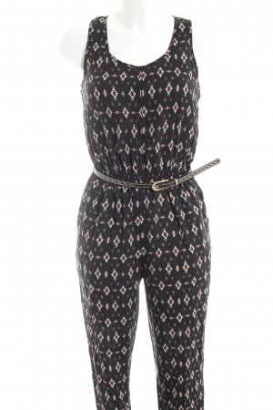 New Look Jumpsuit Allover-Druck Casual-Look