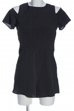 New Look Jumpsuit schwarz-weiß Punktemuster Casual-Look