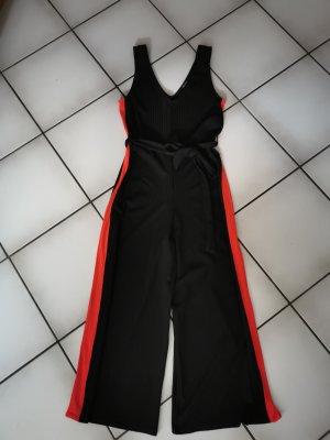 New Look Jumpsuit in schwarz und rot