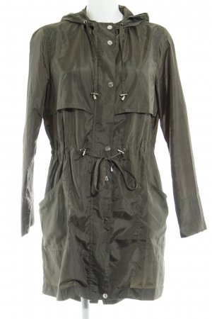 New Look Hooded Coat olive green casual look