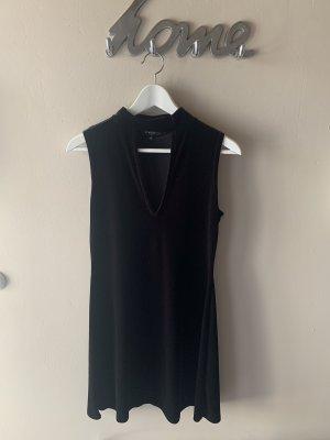 New Look Vestido de cuello Halter negro