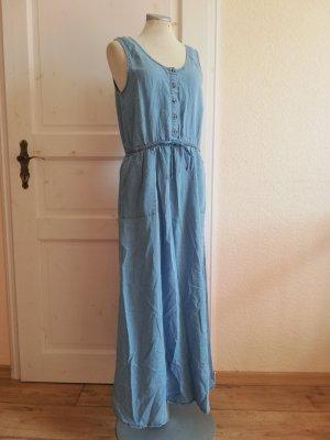 New Look Kleid Sommerkleid Maxikleid Jeanskleid Gr. 40 L
