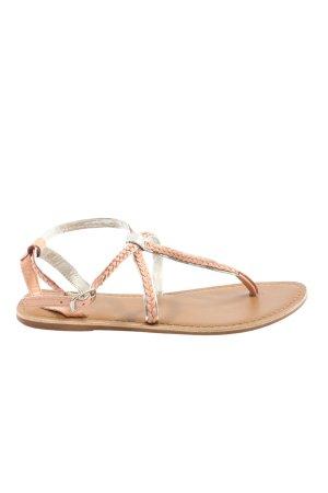 New Look Komfort-Sandalen nude-silberfarben Casual-Look