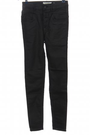 New Look Faux Leather Trousers black casual look