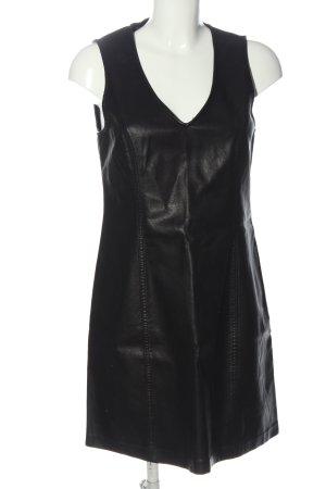 New Look Robe en simili noir style décontracté