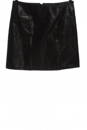 New Look Faux Leather Skirt black elegant