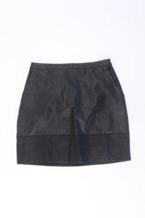 New Look Spódnica z imitacji skóry czarny Wiskoza