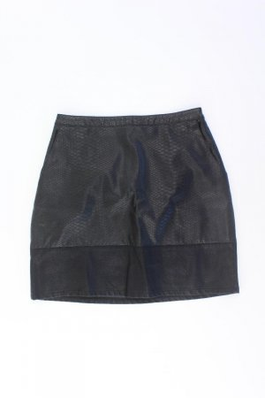 New Look Kunstlederrock Größe 38 schwarz aus Viskose