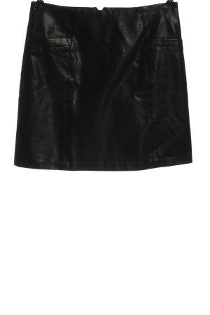 New Look Kunstlederrock schwarz Elegant
