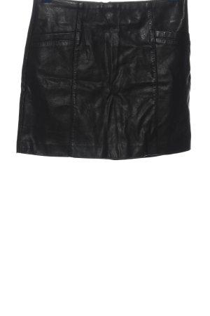New Look Jupe en cuir synthétique noir style mouillé