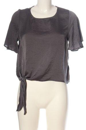 New Look Camicetta a maniche corte grigio chiaro stile professionale