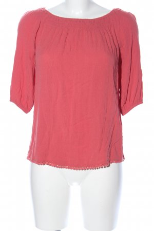 New Look Kurzarm-Bluse rot Casual-Look