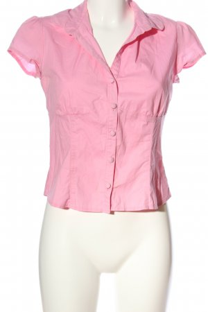 New Look Kurzarm-Bluse pink Casual-Look