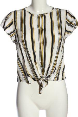 New Look Blouse à manches courtes motif rayé style décontracté