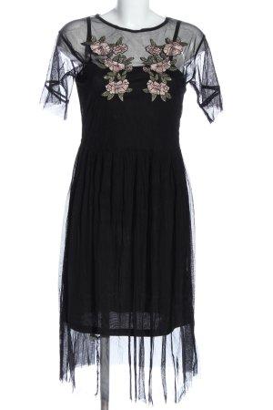 New Look Kurzarmkleid schwarz Elegant