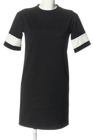 New Look Robe à manches courtes noir style décontracté