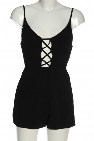 New Look Kurzer Jumpsuit black casual look