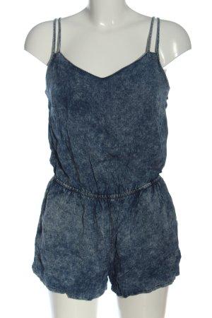 New Look Kurzer Jumpsuit blau Casual-Look