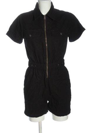 New Look Kurzer Jumpsuit schwarz Casual-Look