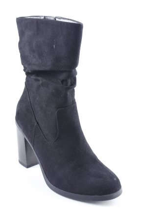 New Look Botas bajas negro look casual
