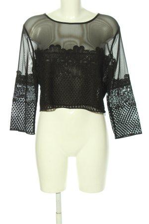 New Look Langarm-Bluse schwarz Elegant