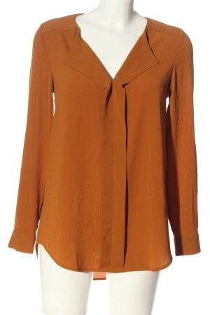 New Look Blouse à manches longues orange clair style d'affaires