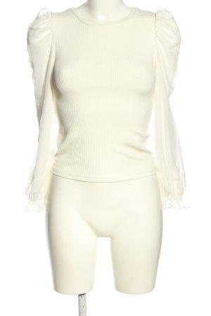 New Look Langarm-Bluse weiß Casual-Look