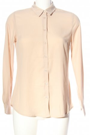 New Look Langarm-Bluse creme Business-Look