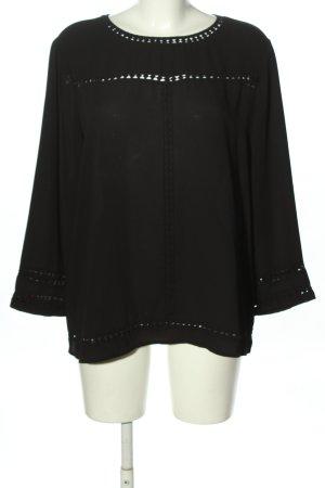 New Look Langarm-Bluse schwarz Casual-Look