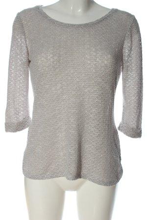 New Look Langarm-Bluse hellgrau Casual-Look