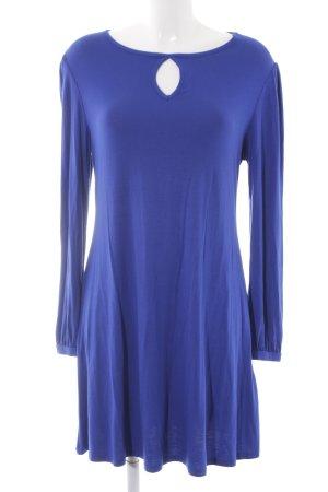 New Look Langarmkleid blau Casual-Look